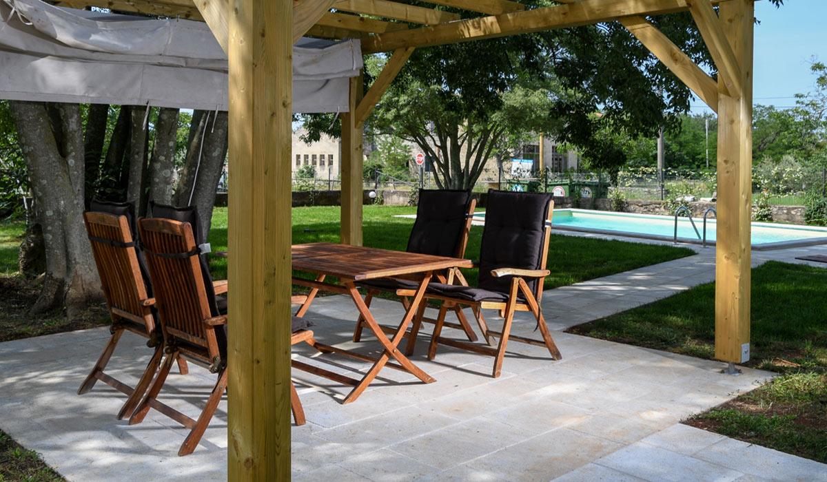 Come Recintare Un Giardino villa agnes buje – quiet relaxing holidays in the heart of